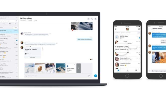 La messagerie de Skype reçoit des mises à jour indispensables