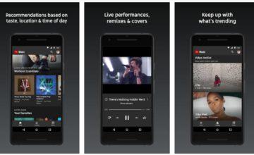 YouTube Music sera préinstallé sur tous les nouveaux appareils Android 10