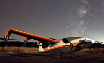 Kitty Hawk a dévoilé son troisième avion électrique baptisé Heaviside