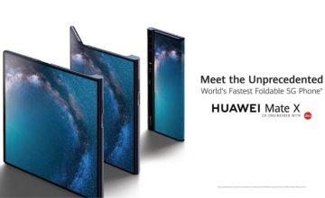 Huawei lancera son téléphone pliable Mate X le mois prochain