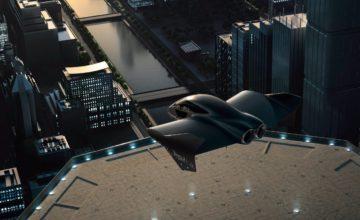 """Boeing et Porsche développent une """"voiture volante"""" électrique"""