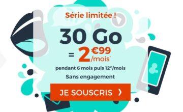 Cdiscount Mobile propose un forfait mobile à 2,99 euros !