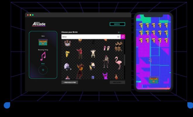 Giphy Arcade : jouez, créez et partagez des mini jeux