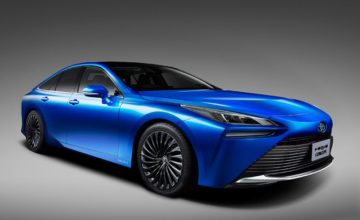 Toyota dévoile une nouvelle Mirai à l'hydrogène
