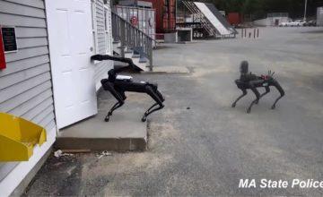 La police américaine utilise le robot Spot de Boston Dynamics