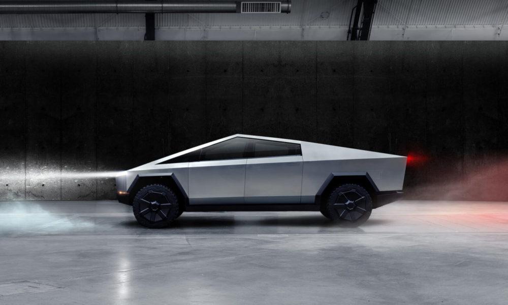 Le Cybertruck futuriste de Tesla révélé !