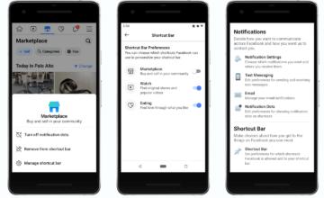 Facebook va maintenant vous permettre de désactiver les points de notification dans son application mobile
