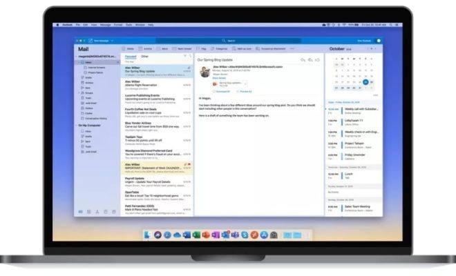 Outlook fait peau neuve sur iOS et macOS