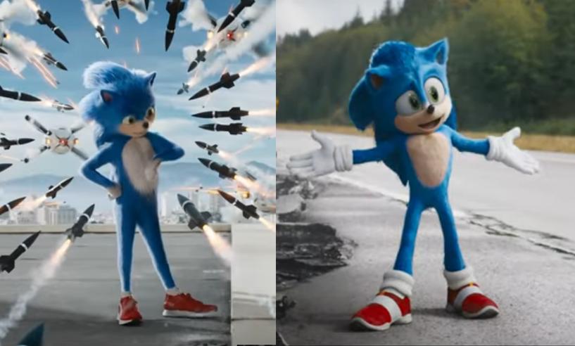 Sonic le film : Paramount a pris en compte l'avis des fans et voici son nouveau look