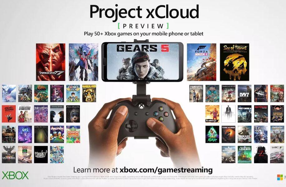 Microsoft xCloud : 50 nouveaux jeux et un lancement prévu pour 2020