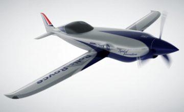 Rolls-Royce dévoile un avion 100% électrique avec l'objectif de battre le record du monde de vitesse