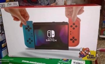 Nanica Smitch, une copie Nintendo Switch en Colombie