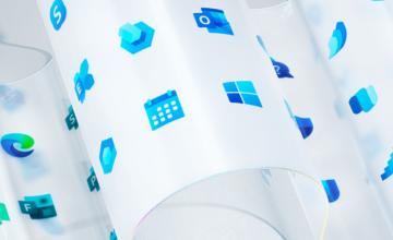 Microsoft redessine le logo Windows et plus de 100 autres icônes