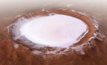 Mars a enterré un trésor sous forme d'eau glacée