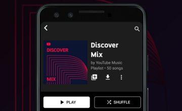 YouTube Music propose maintenant des playlists personnalisées façon Spotify