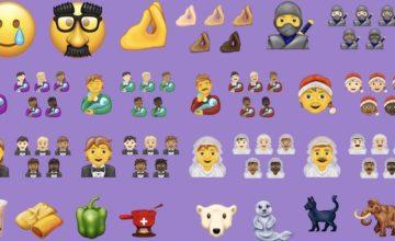 Voici la liste des 117 nouveaux emojis en 2020
