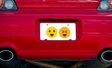 Les emojis pourrait bientôt apparaître sur les plaques d'immatriculation aux États-Unis