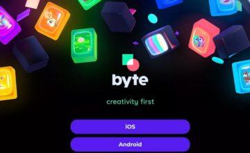 Byte le successeur de Vine est maintenant disponible sur iOS et Android