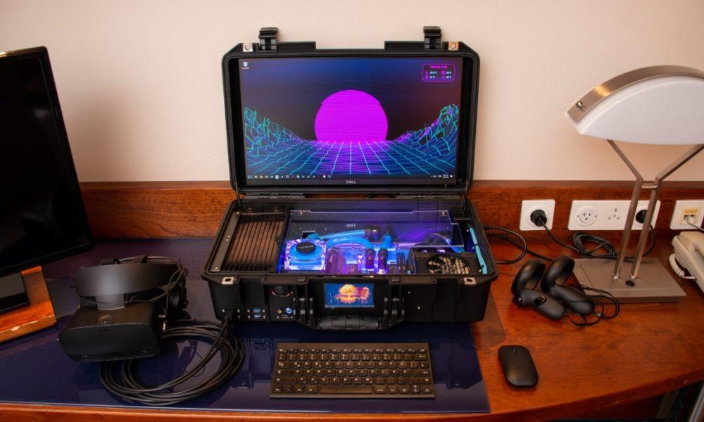 Nuclear Football : un PC portable de jeu à refroidissement liquide