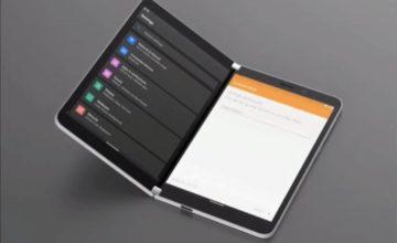 Microsoft Surface Duo : premier aperçu d'Android sur les smartphones à double écran