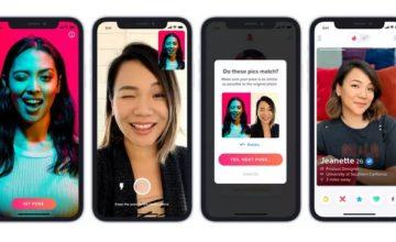 Tinder lance un nouveau système de vérification des photos