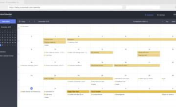 ProtonMail vient de lancer un calendrier chiffré