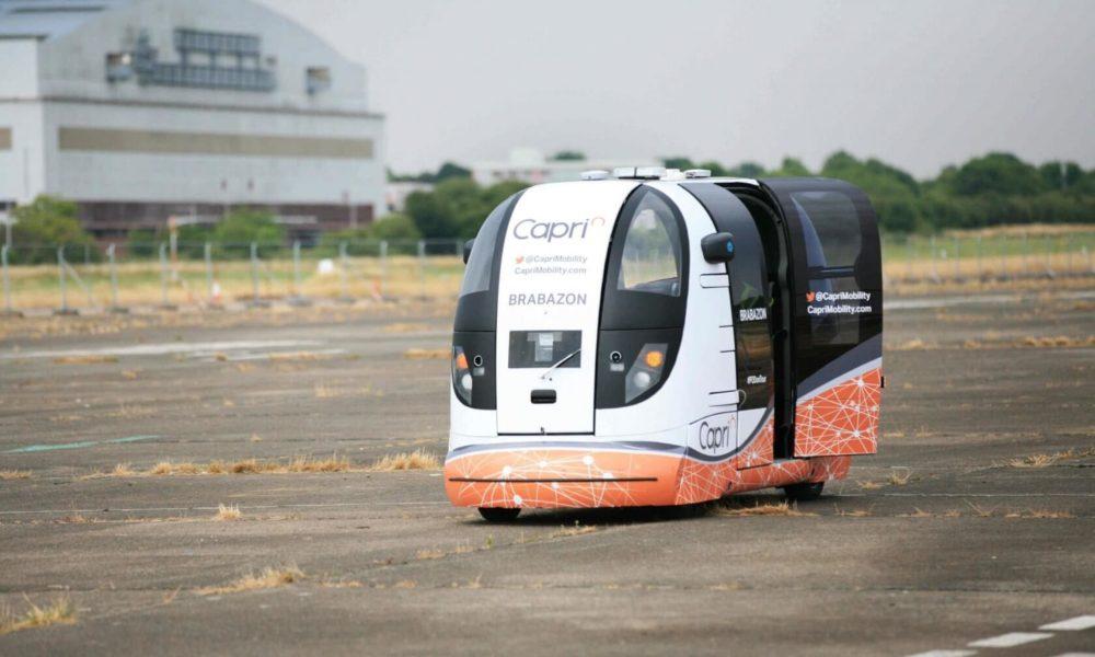 Des «pods sans conducteur» testés au Royaume-Uni