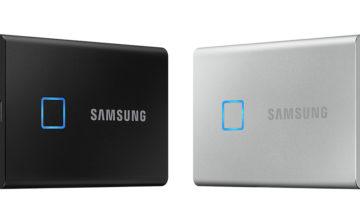 Samsung a créé un SSD portable verrouillable via une empreinte digitale