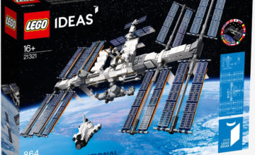 Lego lance une maquette de la Station spatiale internationale