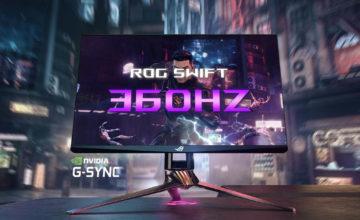CES 2020 : L'Asus ROG Swift 360Hz est le moniteur le plus rapide au monde