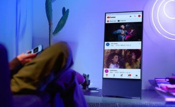 CES 2020 : Samsung dévoile la Sero TV, une nouvelle télé rotative