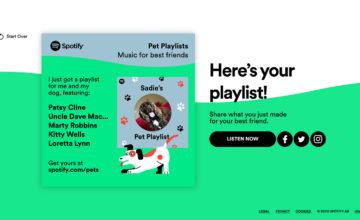 Spotify lance des playlists pour les animaux de compagnie