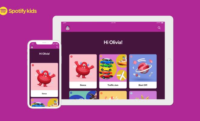Spotify lance « Spotify Kids » pour les abonnés Premium Famille