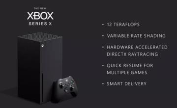 Xbox Series X : Microsoft dévoile plus de spécifications et confirme une puissance de 12 téraflops