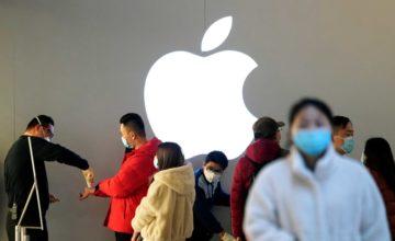 Apple rouvre tous ses magasins en Chine