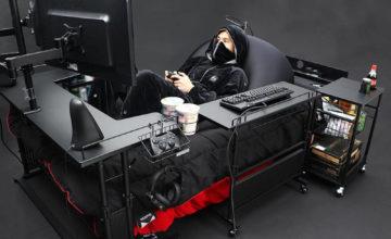 Après les fauteuils gaming, voici ... le lit gaming !