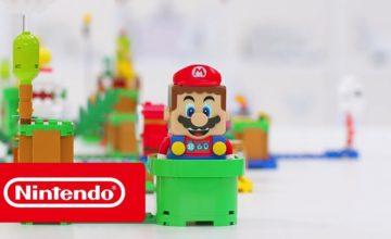 Lego s'associe à Nintendo pour créer des jouets sur le thème de Super Mario