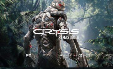 Crysis Remastered prévu sur toutes les plateformes, y compris la Switch