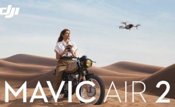 DJI dévoile son nouveau drone DJI Mavic Air 2