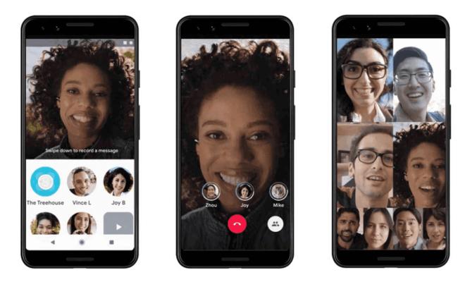 La qualité d'image bientôt améliorée, même en bas débit — Google Duo