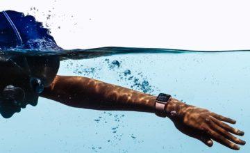 futures Apple Watch pourraient peut-être avertir les nageurs des requins à proximité