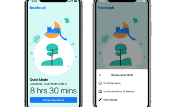 Facebook ajoute un mode silencieux à son application