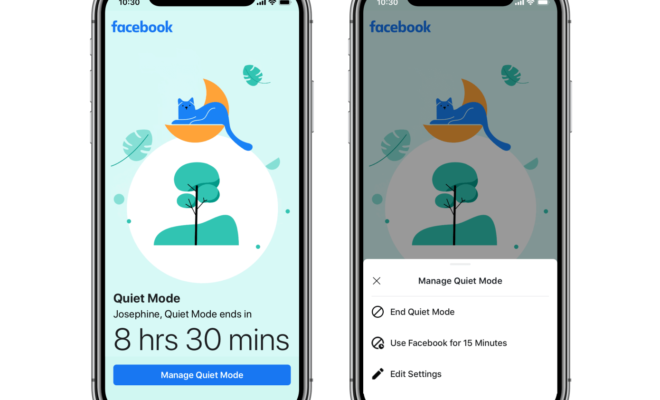 Facebook ajoute un mode silencieux pour couper les notifications