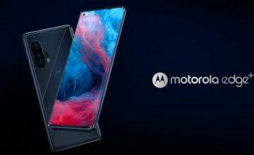 Motorola annonce officiellement les Edge et Edge+