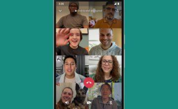 WhatsApp augmente la limite des appels vidéo à huit personnes