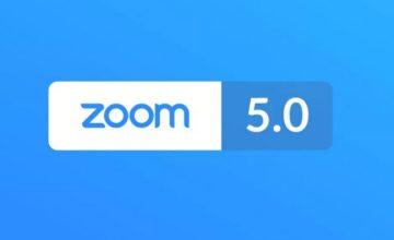 Zoom : sortie de la version 5.0 avec plus de sécurité et de confidentialité