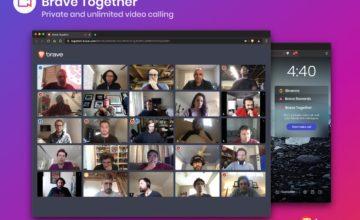 Le navigateur Brave permet désormais de passer des appels vidéo cryptés