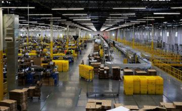 Amazon rouvre ses entrepôts en France