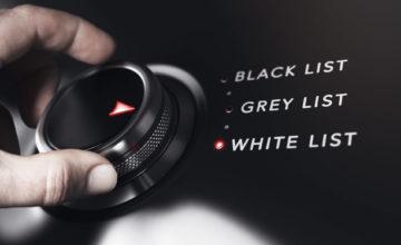 Les termes «liste noire» et «liste blanche» bannis par l'agence britannique de cybersécurité pour racisme