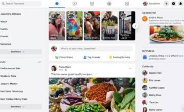 Le nouveau design de la version desktop de Facebook commence à être déployé